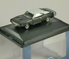 1968 DODGE CHARGER in Black / White 1/87 scale model OXFORD DIECAST