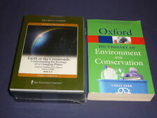 Teaching Co Great Courses DVDs          EARTH AT THE CROSSROADS      new + BONUS