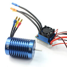 1/10 1/12 Brushless Combo RC Racing 60A ESC Brushless Speed Controller &9T Motor