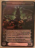 Chaotic Card Ritzu'dag unused code random stats