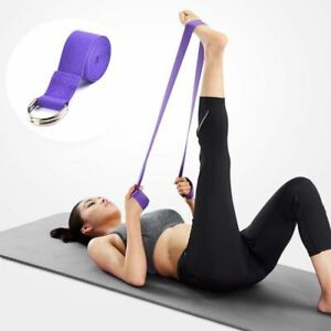 Leg Women Fitness Accessories Yoga Stretch Strap Exercise Gym Rope Belt