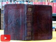 Embossed leather binding 1828-30 S. Andrus unrecorded Goldsmith Vicar Johnson