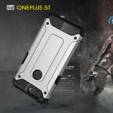 For One Plus 5T 5 T Case Rugged Armor Shockproof Protective Hybrid Phone Cover