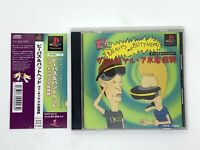 Beavis And Butt Head w/ Spine card Virtual Ajo Syndrome PlayStation PS1