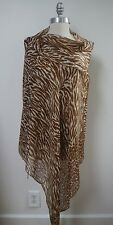 NEW LORO PIANA $1,100 serrengeti soffio cashmere silk large scarf shawl wrap