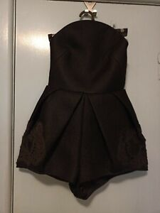 Alice McCall black short jumpsuit in size 8