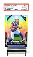 2019 Prizm SILVER REFRACTOR Patriots NKEAL HARRY Rookie Card PSA 10 GEM Pop 13