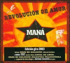 Mana Maná Revolucion de amor DIGIPAK | CD + DVD RAR! OVP