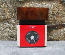 Balance de ménage Testut rouge 5 kilos années 70 vintage