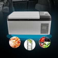 Portable Car Travel Fridge Freezer Cooler Mini Refrigerator 15L 16 Quart Truck