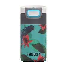 Kambukka Etna Coffee & Tea Mug 300ml 3in1 Snapclean Lid Vacuum Insulated Parrots