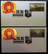 1865-2015 First Day Covers - Five Forks & Appomattox Sesquicentennial SCV logo