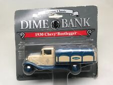 ERTL COLLECTIBLES-TREASURE CLASSIC DIME BANK-1930 CHEVY BOOTLEGGER-SEALED 1/43