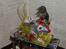 "Dollhouse Miniatures Halloween ""A Gift For The Dead"""