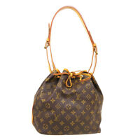 LOUIS VUITTON PETIT NOE DRAWSTRING SHOULDER BAG AR1995 MONOGRAM M42226 33591