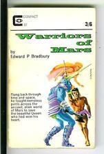 WARRIORS OF MARS by Bradbury, rare British Compact sci-fi S&S pulp vintage pb