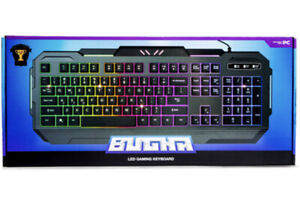 Bugha exclusive LED gaming keyboard for PC