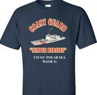 USCGC POLAR SEA   WAGB-11 *COAST GUARD  VINYL PRINT SHIRT/SWEAT