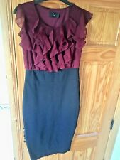 AXParis Black/ party wine dress - Ladies size 12