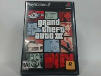 GRAND THEFT AUTO III PLAYSTATION 2 PS2 COMPLETE IN BOX W/ MANUAL CIB VERY GOOD