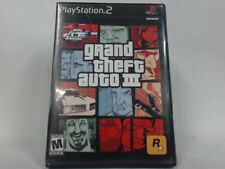 GRAND THEFT AUTO III Playstation 2 PS2 Complete CIB w/ Box, Manual Good