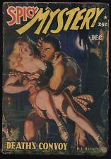 Spicy Mystery - December, 1941 - Original Pulp Magazine - NR