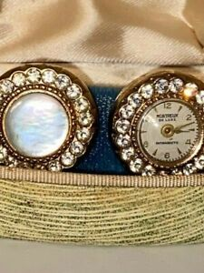 Vintage Cigar Label Cufflinks Buffalo Handmade Cuff Links Gifts for Him