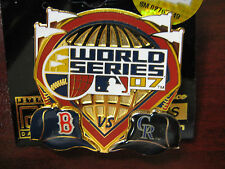 Boston Red Sox vs. Colorado Rockies Pin - 2007 World Series Duel