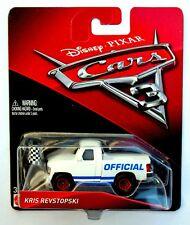 CARS 3 - KRIS REVSTOPSKI -  Mattel Disney Pixar