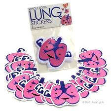 WHOLE LOTTA LUNG STICKERS I HEART GUTS GIANT STICKER PACK OF 15 STICKERS SET