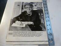 Vintage Wire Press Photo-Eleanor Johnson Founder My Weekl Frederick MD 1/30/1979