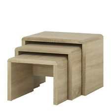 4 You 3 Table Pull out Small Nest of Tables in Sonoma Oak