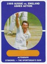England Cricket Trading Cards 1989 Season