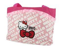 Hello Kitty Kinder-Tasche Shopper Handtasche groß mit Fahrrad-Befestigung pink