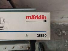 Märklin H0 - 28830 - Locomotiva a vapore con carro di scorta e spazzaneve