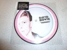 "David Bowie - Heroes - Picture 7"" Single Vinyl /// Neu"