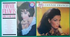 "3 CONNIE FRANCIS Vinyl 12""LP's. Love 'n' Country & 2 for price of 1 double album"