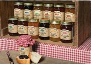 The Dutch Kettle Jams From The Amish Store  It comes in 18 oz. Mason Jars