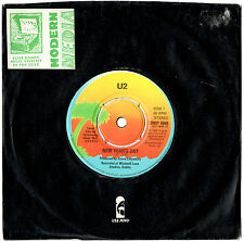 "U2 - NEW YEAR'S DAY / TREASURE - RARE 7"" 45 VINYL RECORD 1983"