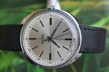 GREAT VERY BIG MEN'S VINTAGE MECHANICAL USSR RAKETA WATCH 21 JEWELS