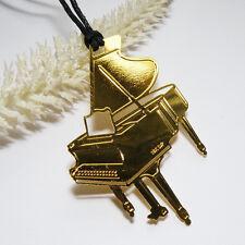 Lesezeichen * KLAVIER * goldfrb. 18KGP * MUSIK Piano Flügel ORNAMENT Christbaum