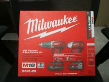 MILWAUKEE M18 COMPACT 2-TOOL COMBO KIT #2691-22