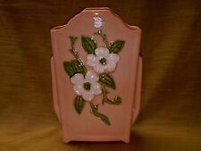 "Hull Pottery Rosella Vase 8 1/2"" R-14-Coral Wild Rose"
