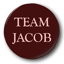 TEAM JACOB - 1 inch / 25mm Button Badge - Twilight Taylor Lautner Eclipse Moon