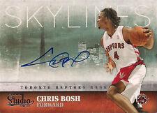 09-10 PANINI - CHRIS BOSH  AUTOGRAPH - ON THE CARD AUTO