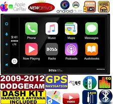 2009-2012 DODGE RAM GPS Navigation APPLE CARPLAY ANDROID AUTO CAR STEREO