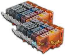 10 Cartuchos de tinta para Canon Pixma PGI525 CLI526 iP4800 P4820 iP4850 iP4920