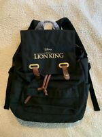 Disney's The Lion King Canvas Backpack 2019 *RARE* BRAND NEW Collector Item