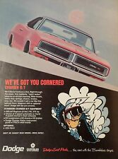 1968 DODGE CHARGER R/T-AD/PICTURE/PRINT 69 70 SUPER BEE DODGE SCAT PACK 440 CID