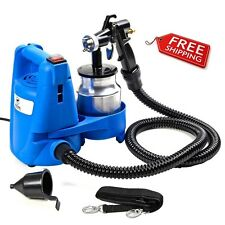 Lightweight Paint Spray Gun 650W Electric Pro Home HVLP 3 Way No Drip Clean Easy
